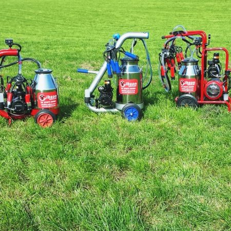 Our range of portable milking equipment