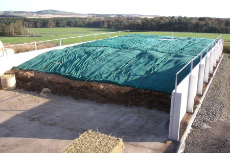 Secure Covers for Silage Clamps