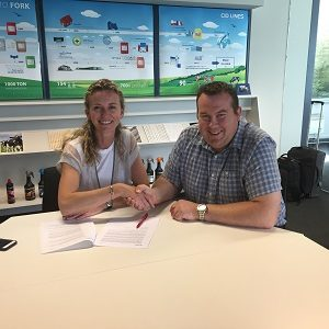 Tim Gibson Signs Deal with CID LINES